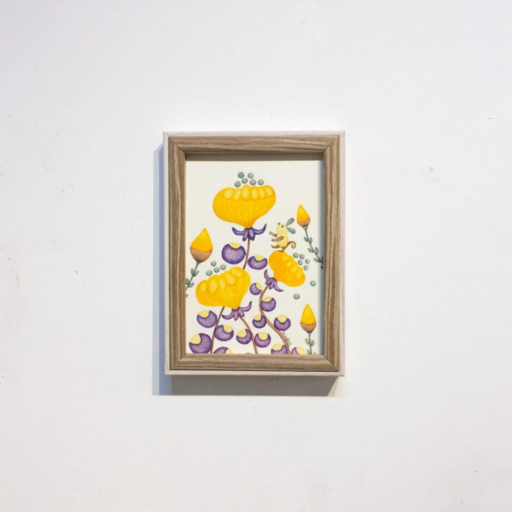 上のお花へ-9