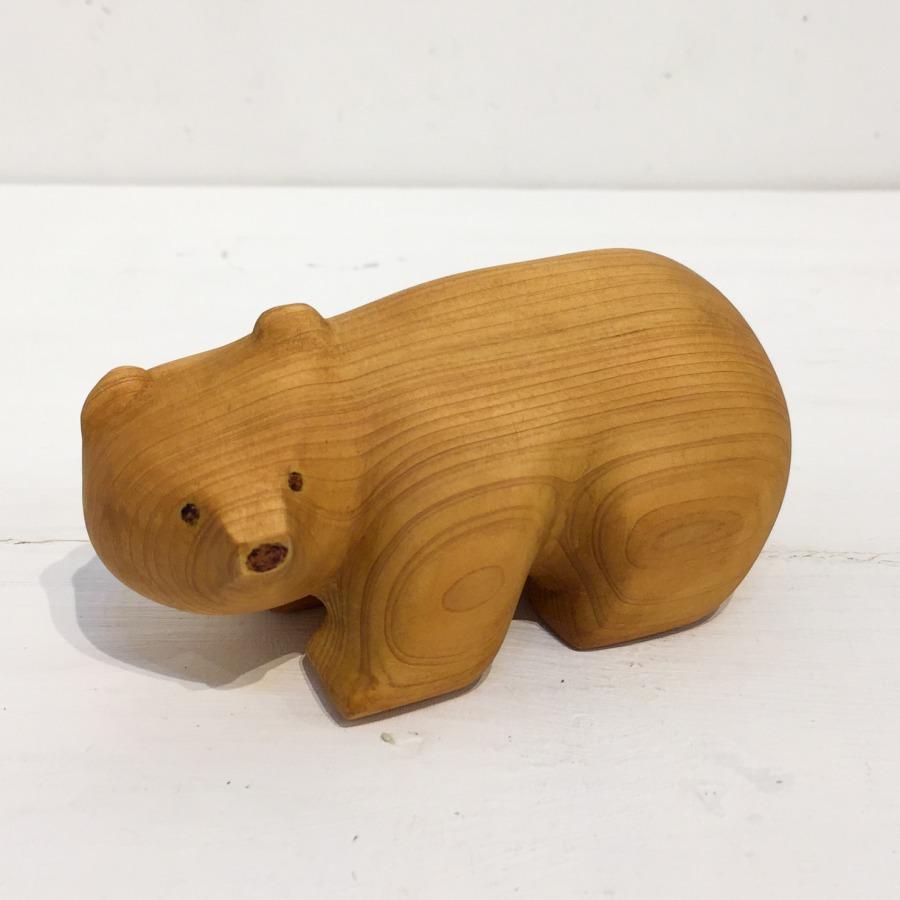 木彫りクマ(4つ足)-1
