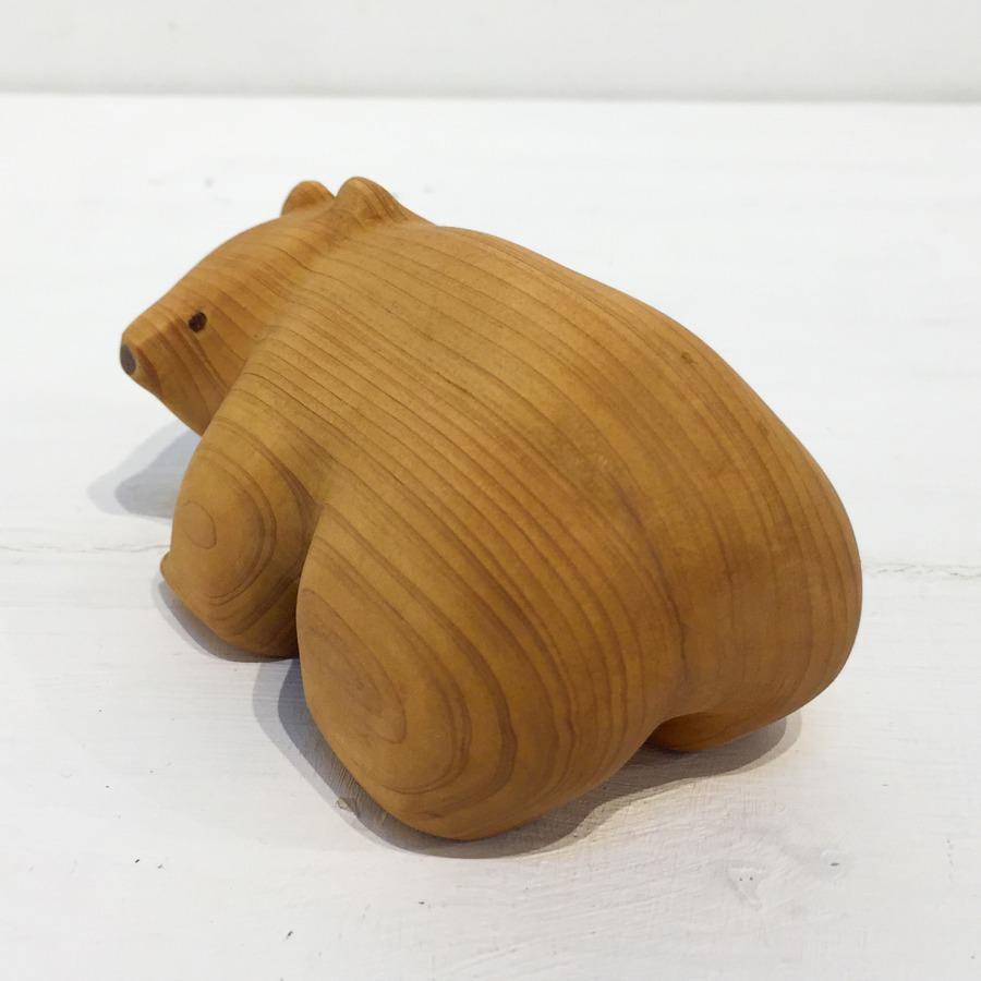 木彫りクマ(4つ足)-2