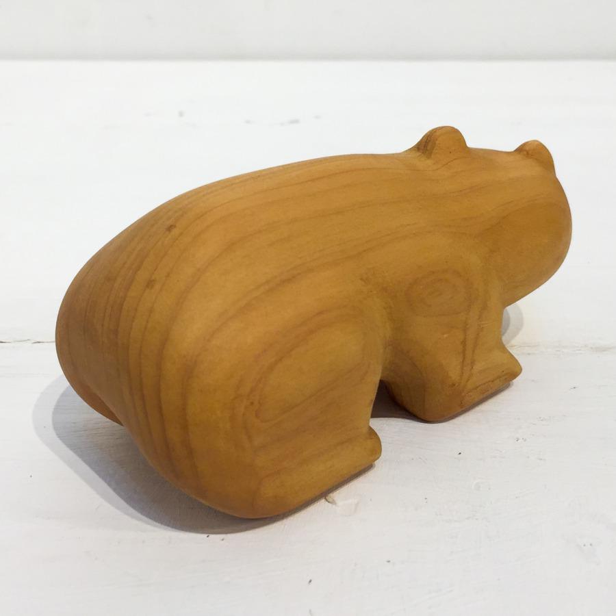 木彫りクマ(4つ足)-3