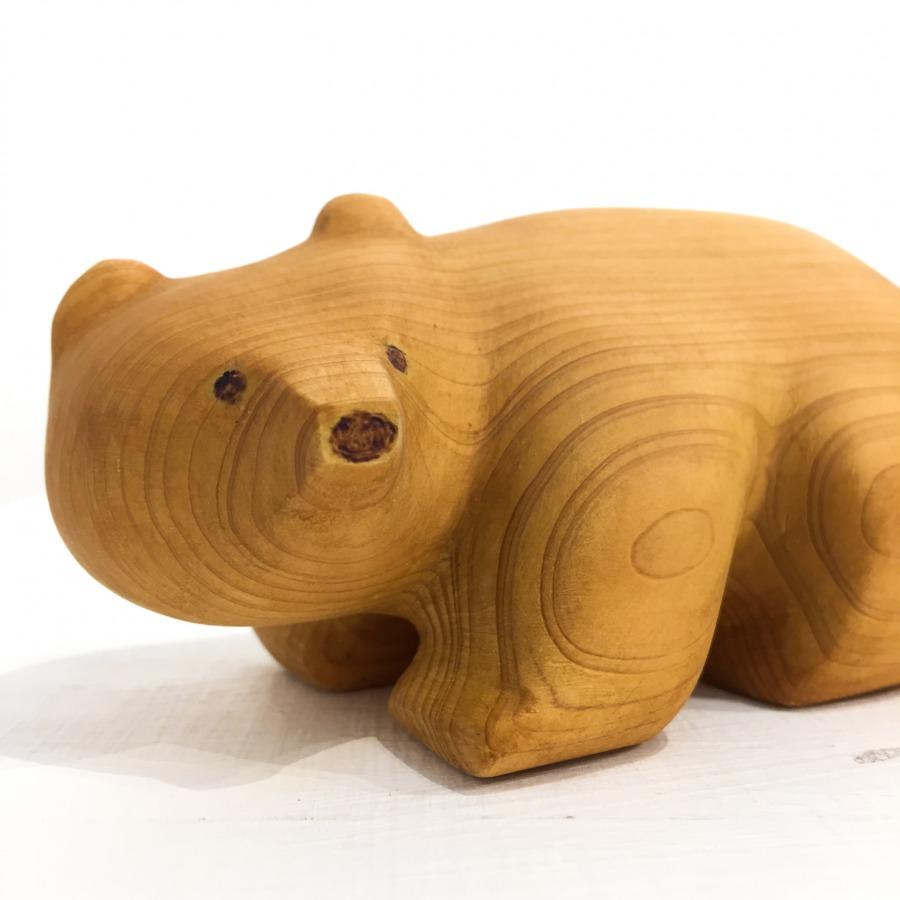 木彫りクマ(4つ足)-6