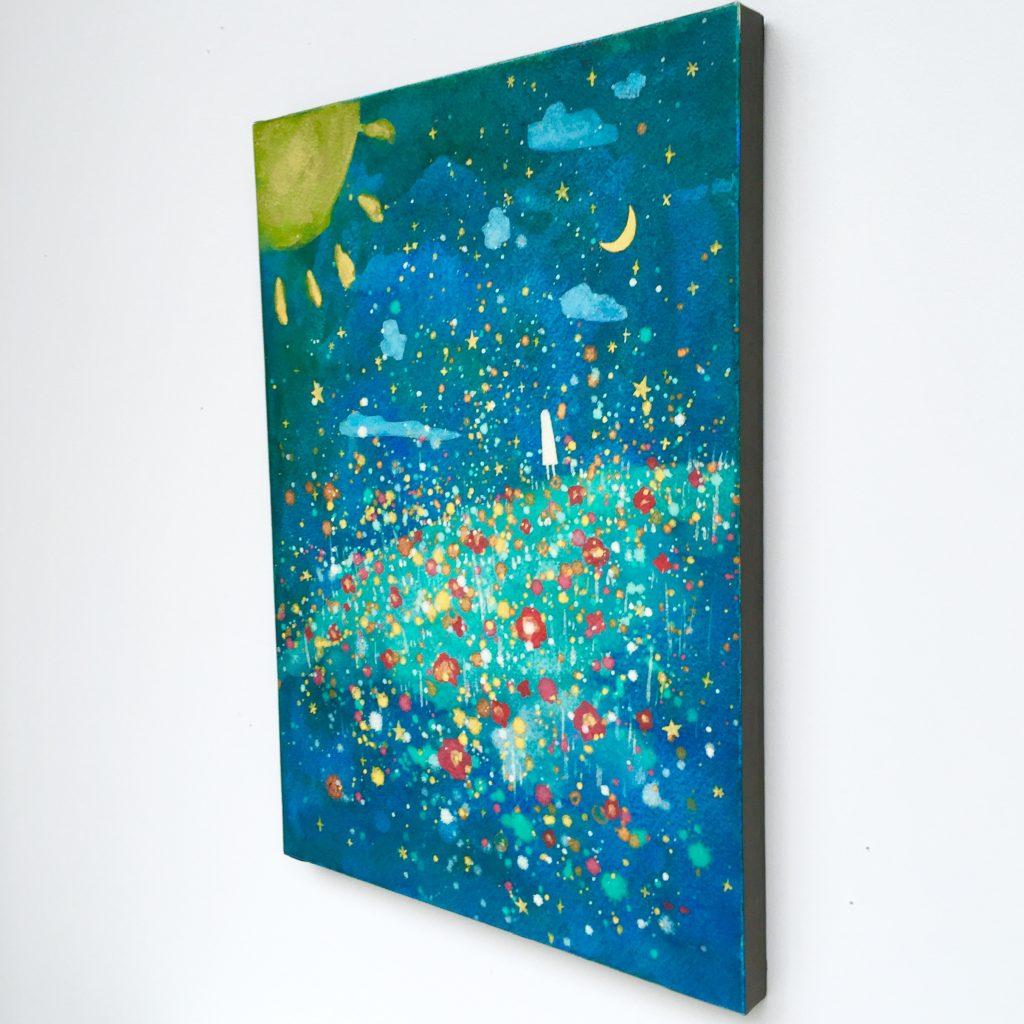 明るい月-1