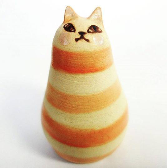 ネコの置物(大)-1