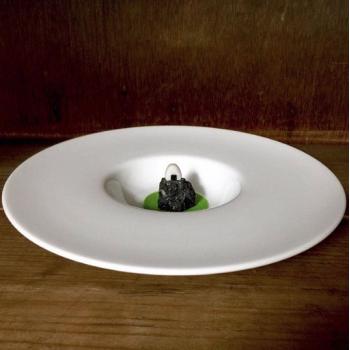 皿入りおむすび