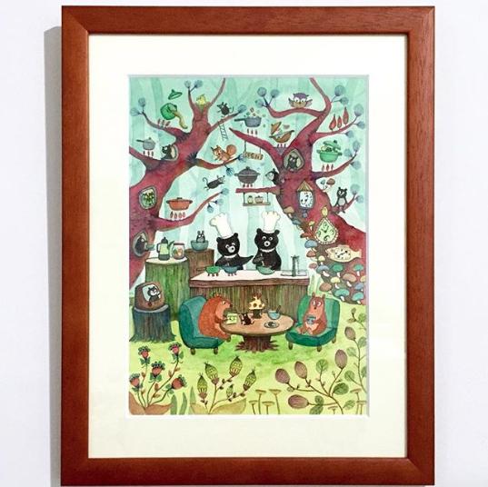 森のレストラン-1