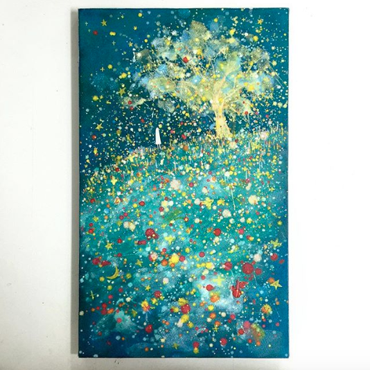 キラキラの木-1