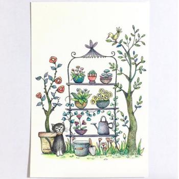 ガーデンシリーズ:ネコ