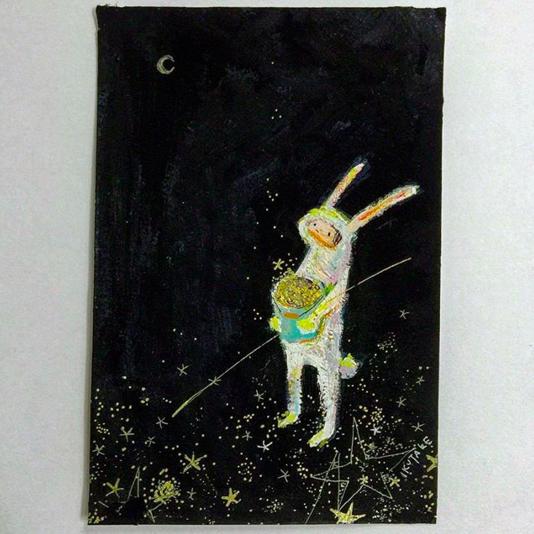 優しい子どもたち 月のうさぎ-1