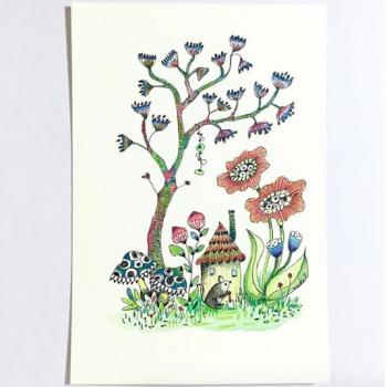 ガーデンシリーズ:ネズミくん