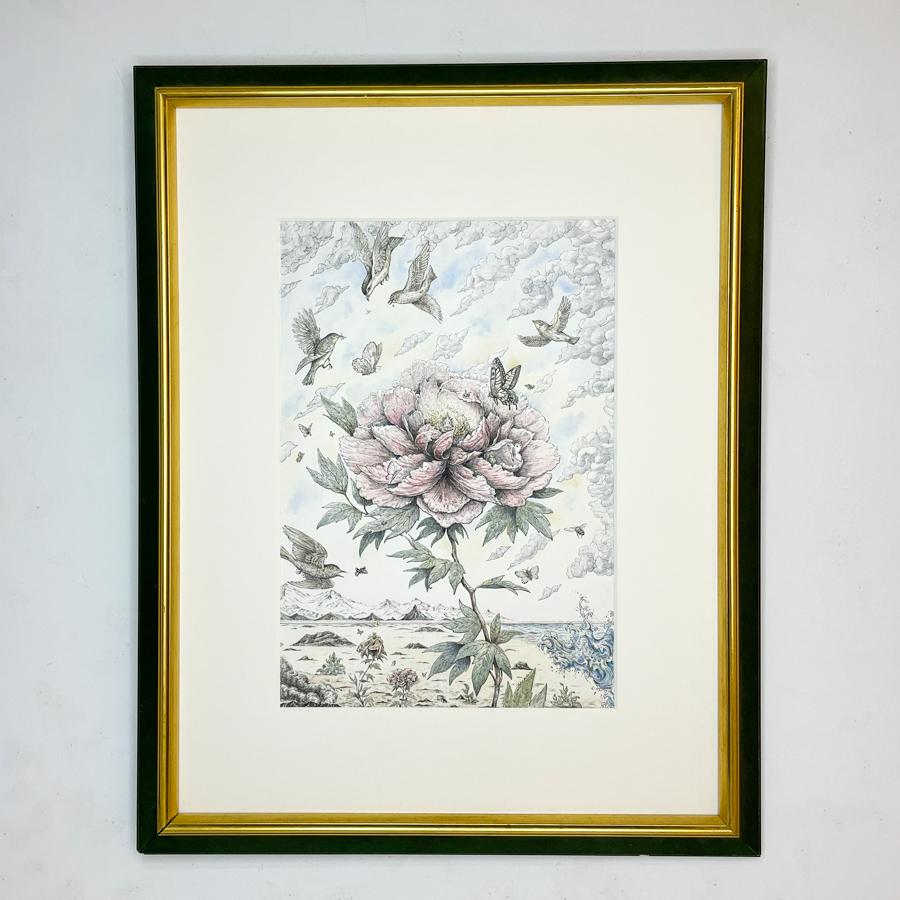 一本の花-1