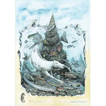 越智健仁 新作展「海の宝」
