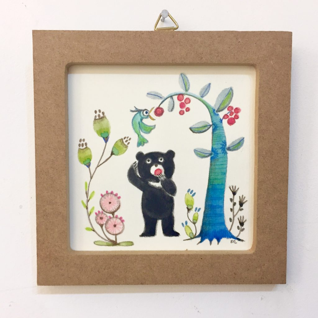 子ぐまシリーズ「トリとクマ」-4
