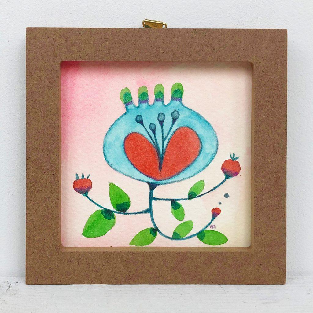 植物画シリーズ-1