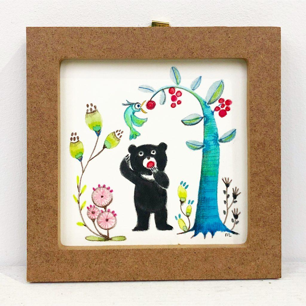 子ぐまシリーズ「トリとクマ」-1