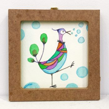 変な鳥シリーズ「ブクブク」
