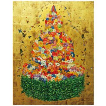 越智健仁 個展 「花と蟲とたくさんのいきものたちと」