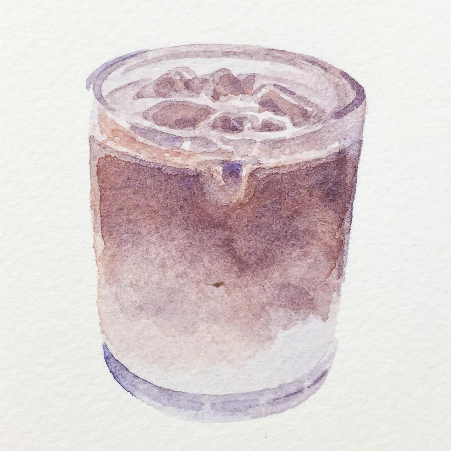 アイスカフェオレ-4