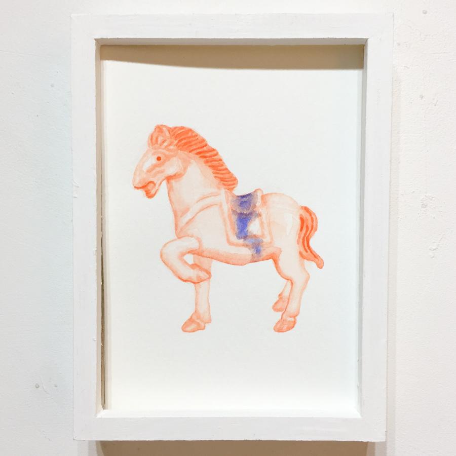 馬の置き物-1