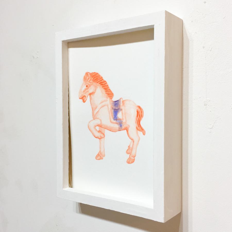 馬の置き物-2