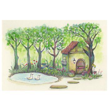 ガーデンシリーズ:家