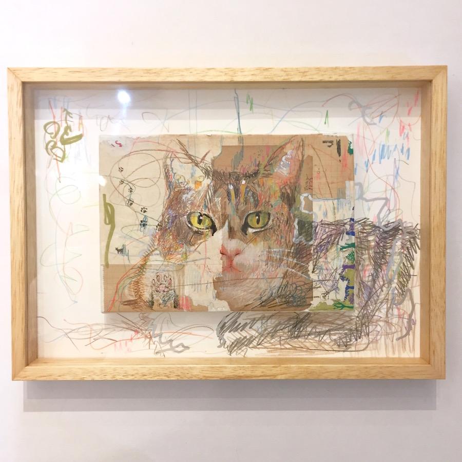 猫〜ドローイング〜2019-1
