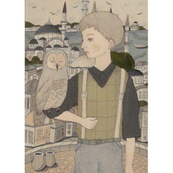 男の子とフクロウ2