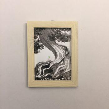 「すみちょこん 29」(額付き)