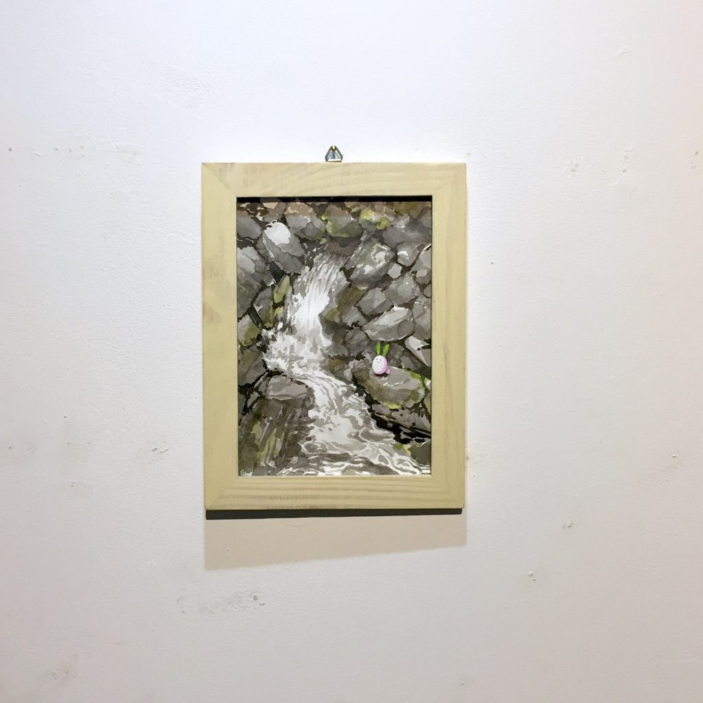 「すみちょこん 23」(額付き)-3