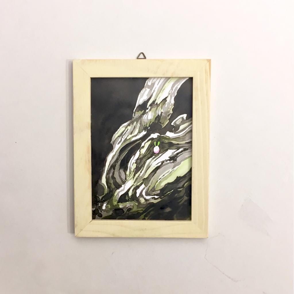 「すみちょこん 17」(額付き)-3