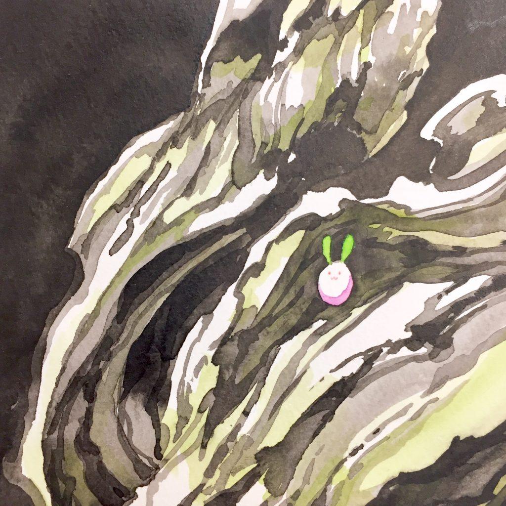 「すみちょこん 17」(額付き)-2
