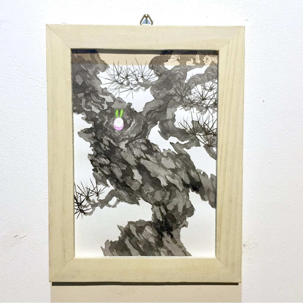 「すみちょこん 21」(額付き)-1