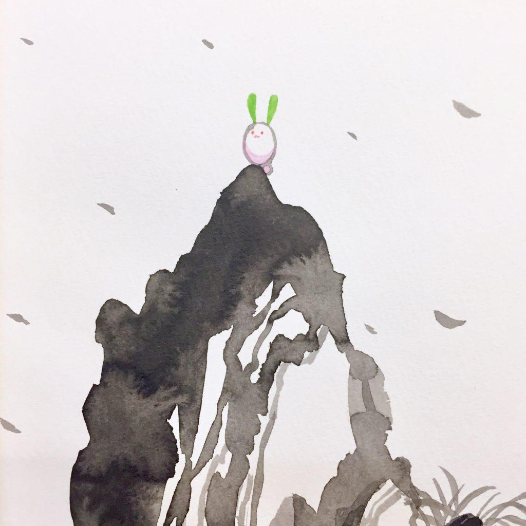 「すみちょこん 18」(額付き)-2
