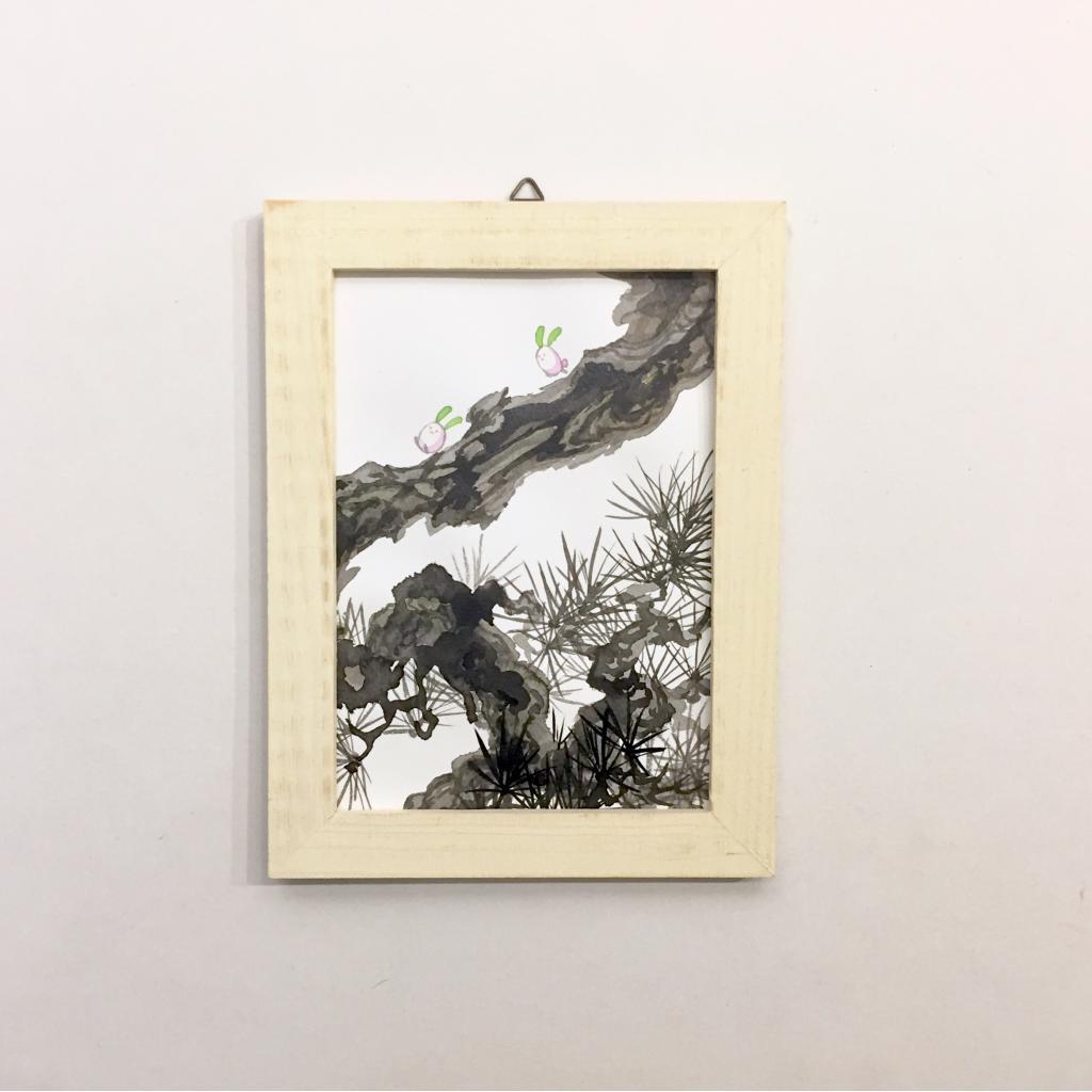 「すみちょこん 27」(額付き)-3