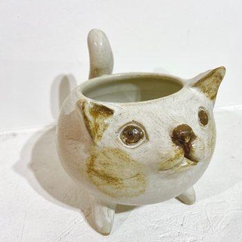 ネコ 植木鉢