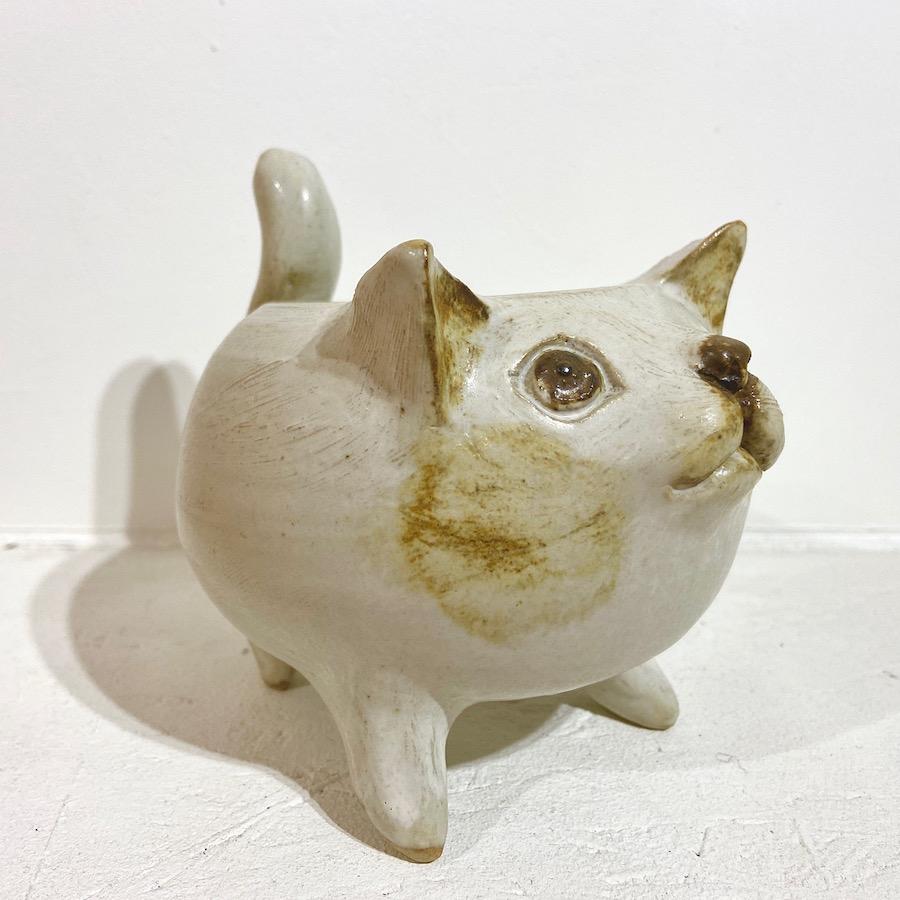 ネコ 植木鉢-2