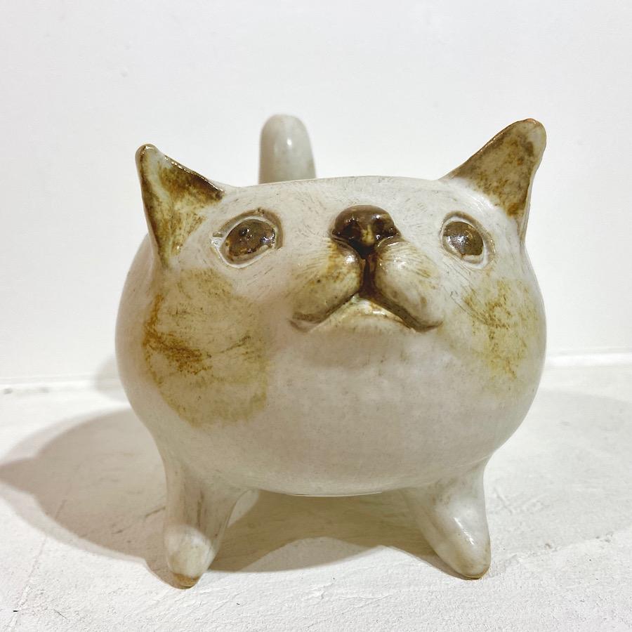 ネコ 植木鉢-7