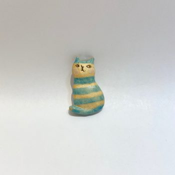 ネコ ブローチ