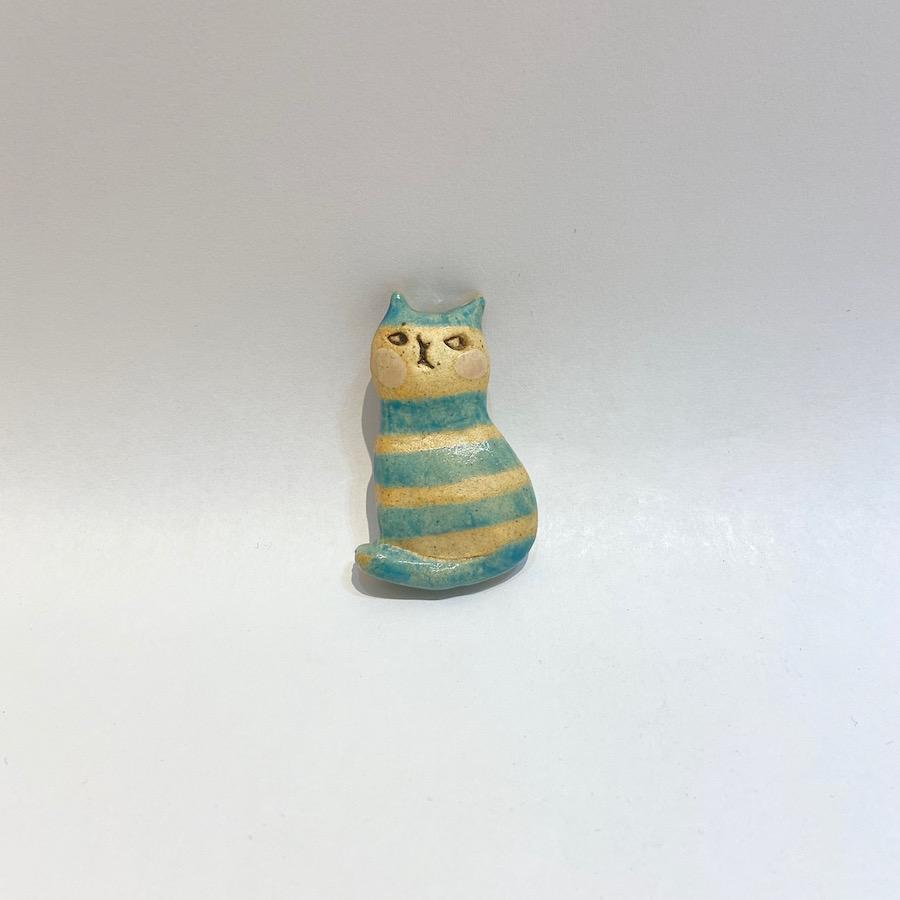 ネコ ブローチ-1