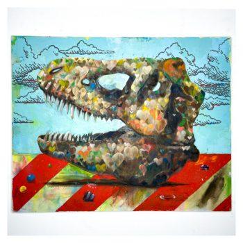 恐竜の骨(ティラノサウルス)