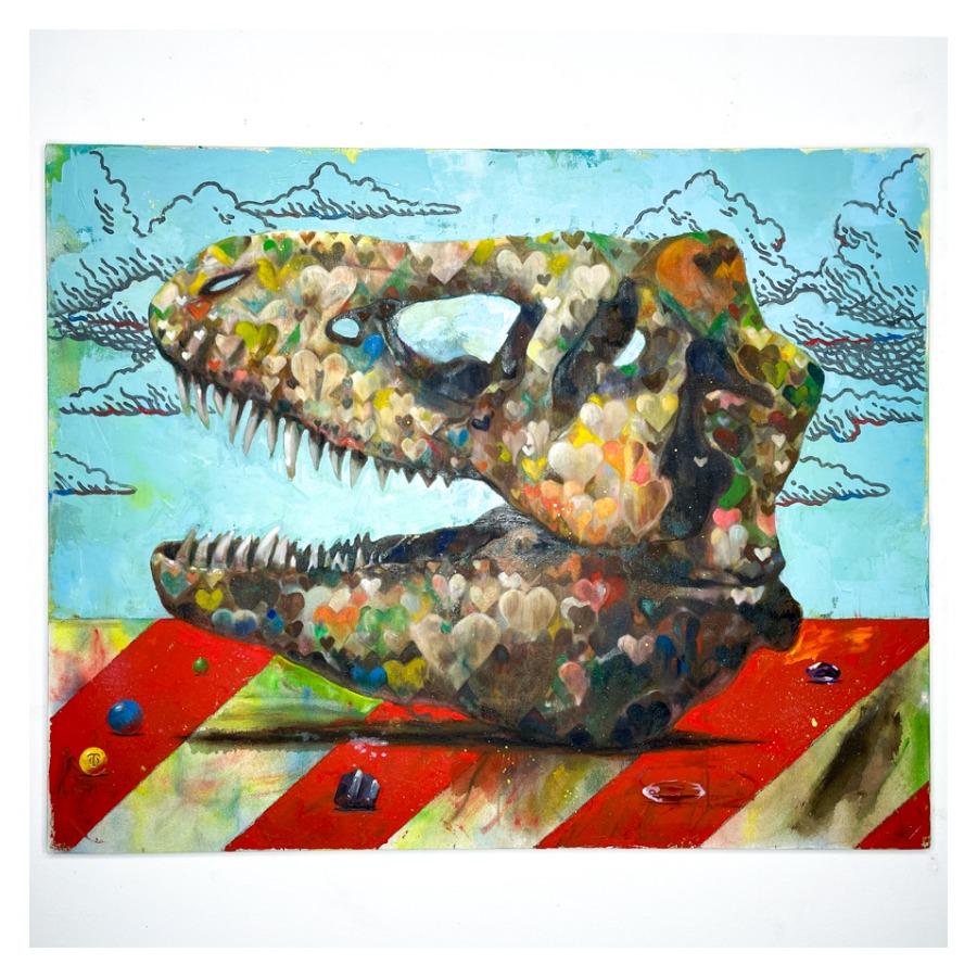 恐竜の骨(ティラノサウルス)-1