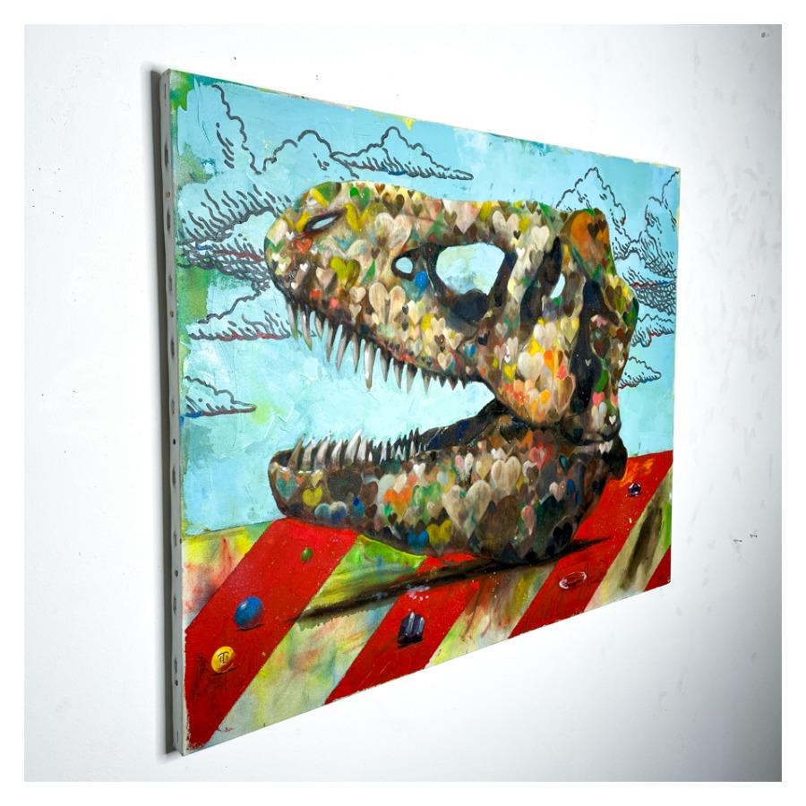 恐竜の骨(ティラノサウルス)-2