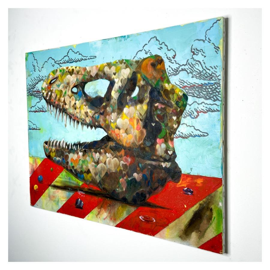 恐竜の骨(ティラノサウルス)-3