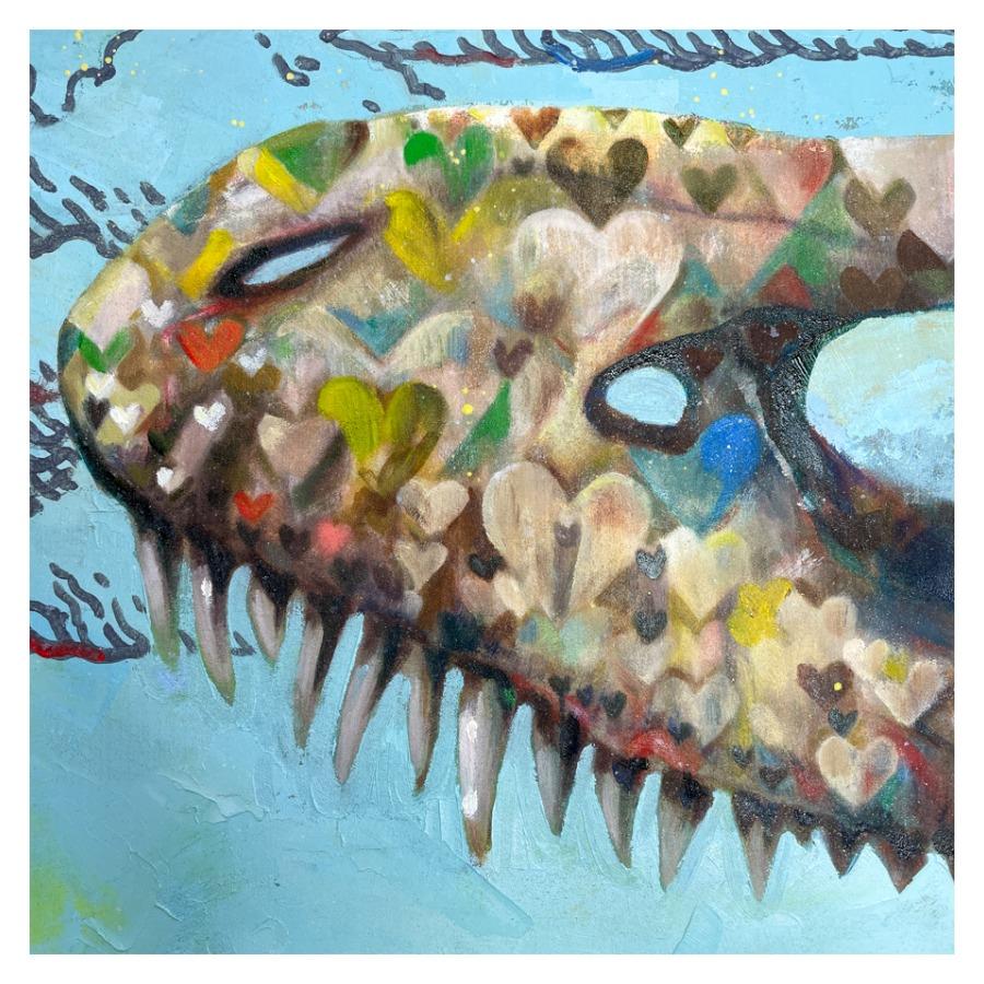 恐竜の骨(ティラノサウルス)-4