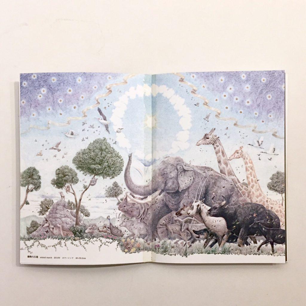 作品集「鸚夢」動植物の世界-4