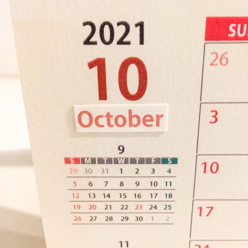 白井美奈子作 2021年カレンダー-5