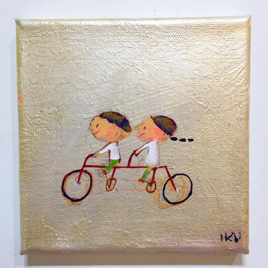 自転車に乗って-1