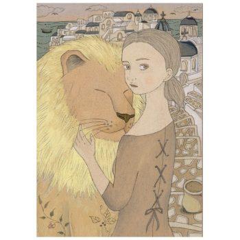 ライオンと女の子